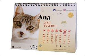 Calendário 2021 - Resgatinhos da Tia Lu