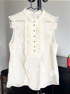 Camisa Le Lis Blanc com Babados