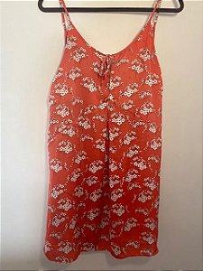 Vestido Vermelho de Alças
