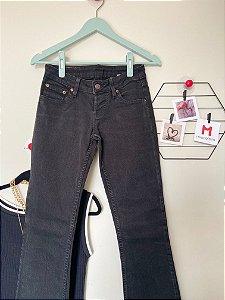 Calça Flare Jeans Preta Levi´s