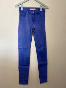 Calça Zara Azul Turquesa