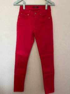 Calça James Jeans Vermelha