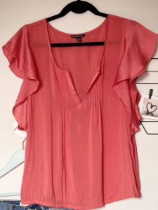 Blusa Coral American Eagle Outfitter