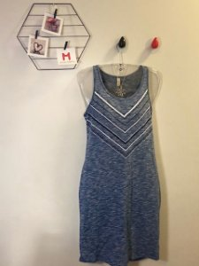 Vestido Básico Azul
