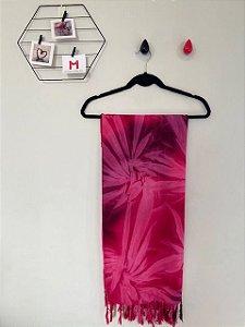 Pashmina Pink Tie Dye