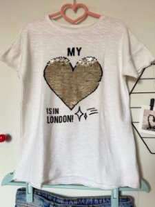 Camiseta Infantil Bordada Zara