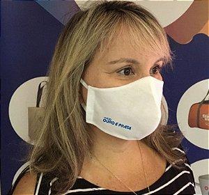 Máscara em TNT COM LOGO da sua empresa personalizado- 2.500 UNIDADES