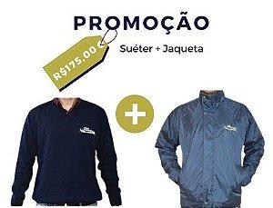 PROMO! Suéter + Jaqueta