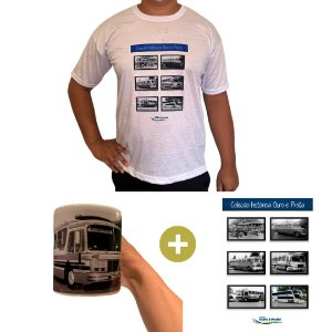 Série Histórica 1970 (1 Camiseta + 1 Poster + 1 Caneca Carro 1970)