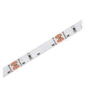 Fita LED Azul Eco 6w por metro IP20 12V - Rolo 5 Metros