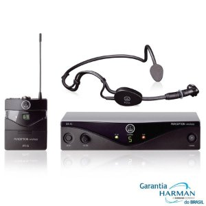MICROFONE SEM FIO HEADSET PW45 SPORTS - AKG