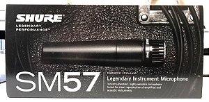 Microfone SM57 Para Instrumento LC Shure