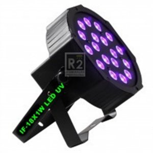 IF-UV181 LUMINÁRIA LED PAR 18X1W UV INFINITY