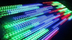 Tubo LED RGB 1 m Pixel 60001 Fundo Branco 5v CI 1903