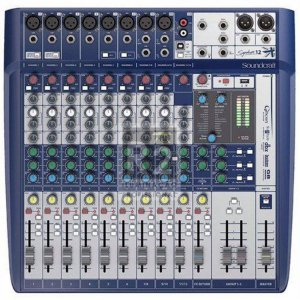 MESA DE SOM SIGNATURE 12 SOUNDCRAFT