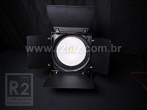 Refletor Par CW/WW Fresnel LED Cob 200W Bandoor Skypix