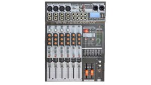 MESA DE SOM MIXER SOUNDCRAFT SX802FX USB