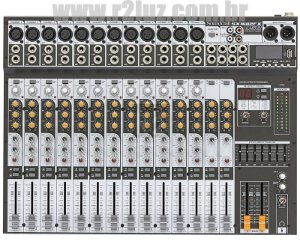 MESA DE SOM SOUNDCRAFT SX 1602FX USB