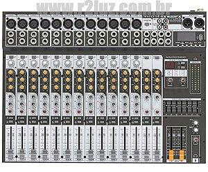 MESA DE SOM SOUNDCRAFT SX 1602FX USB