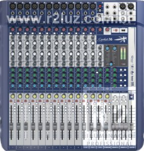 MESA DE SOM MIXER SOUNDCRAFT SIGNATURE16