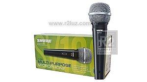 Microfone Vocal Com Fio Sv 100 Shure