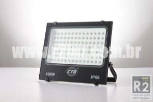 REFLETOR LED 100W IP66 BIVOLT CTB