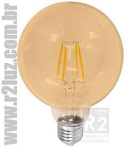 LAMPADA FILAMENTO LED 8W G125 CTB