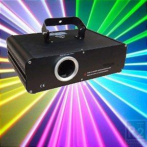 Laser 1000mw Rgb Bivolt Show