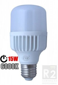 Lampada Bulbo 15W Led 6000K CTB