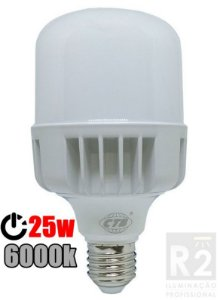 Lampada Bulbo 25w Led 6000k Ctb