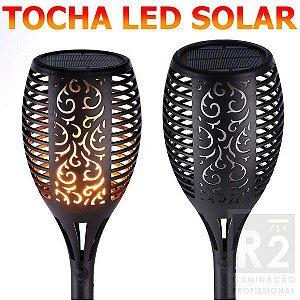 Poste Tocha Led Solar 1400K Ctb