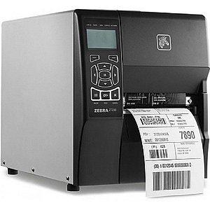 Impressora de Etiquetas ZT230  TT 203 DPI Usb Serial - Zebra