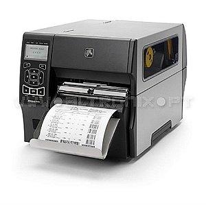 """Impressora ZT410 203 DPI LARG 4"""" Usb Serial Ethernet 10/100 E Bluetooth - Zebra"""