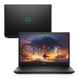 notebook gamer dell 9ª geração intel core i5 8GB 512GB SSD Placa Vídeo NVIDIA GTX 1650