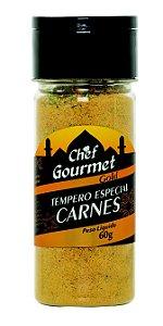 TEMPERO ESPECIAL CARNES  60G CHEF GOURMET
