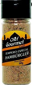TEMPERO ESPECIAL HAMBURGUER 60G CHEF GOURMET