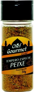 TEMPERO ESPECIAL PEIXE 50G CHEF GOURMET