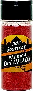 TEMPERO PAPRICA DEFUMADA 50G CHEF GOURMET