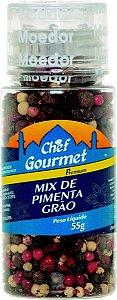 TEMPERO MIX DE PIMENTA EM GRAO 55G CHEF GOURMET