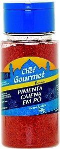 TEMPERO PIMENTA CAIENA EM PO 50G CHEF GOURMET