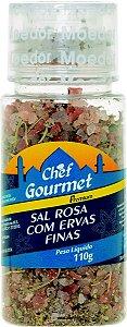 SAL ROSA COM ERVAS FINAS 110G CHEF GOURMET