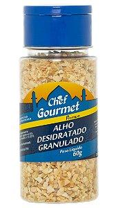 TEMPERO ALHO DESIDRATADO GRANULADO 60GR CHEF GOURMET