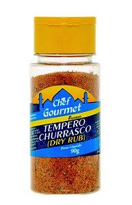 TEMPERO PARA CHURRASCO (DRY RUB) 90G CHEF GOURMET