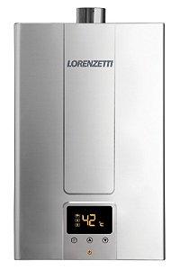 AQUECEDOR A GAS DIGITAL INOX LZ 1600DE-I GLP LORENZETTI