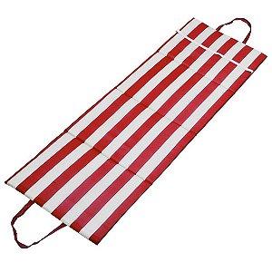 Almofada Cadeira Sport 164X49,5cm Vermelha