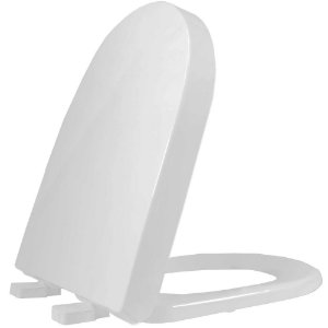 Assento Sanitario Plastico Carrara TF Convencional Cinza - ADCN87