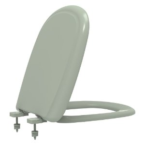Assento Sanitário Plástico Sabatini PP Convencional Verde Claro Icasa AST809