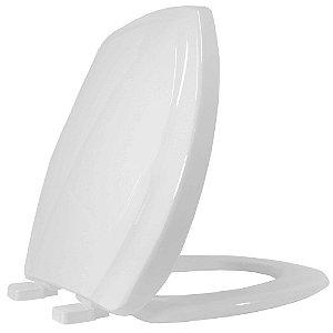 Assento Sanitario Plastico Thema PP Soft Close Cinza Platina - THPPE48S