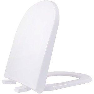 Assento Sanitário Plástico Vogue PP Soft Close Gelo17 - VPPE17S