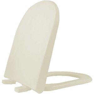 Assento Sanitário Plástico Vogue PP Soft Close Pergomon - VPPE59S